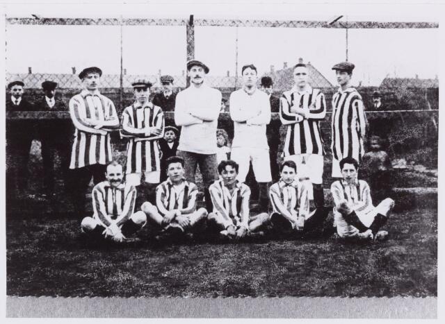 053993 - Sport. Voetbal. Willem II. Voetbalelftal Willem II.