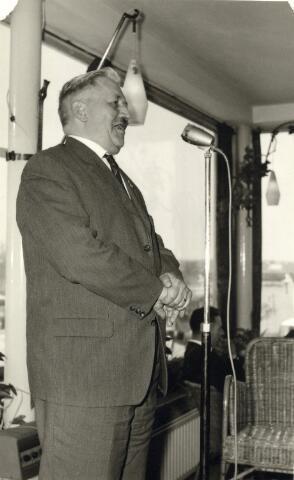 093043 - Toespraak van Verschie, secretaris van de landelijke R.K. Bond van Melkhandelaren t.g.v. van het 25 jarig bestaan van de Tilburgse afdeling van de R.K. Bond van Melkhandelaren St. Martinus.