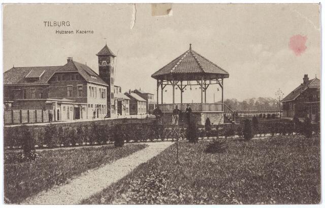 000199 - Muziekkiosk in de Generaal Kromhout kazerne aan de Bredaseweg