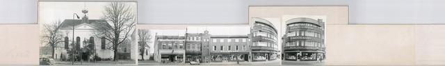 1625_0114 - Fotostrook; straatwand; panden aan de linten en hoofdverbindingswegen in het centrum van de stad; ; foto's werden tussen 1976 en 1985 gemaakt. (foto gemaakt in periode 1976-1985)