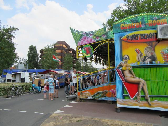 658254 - De Tilburgse kermis in juli 2018.