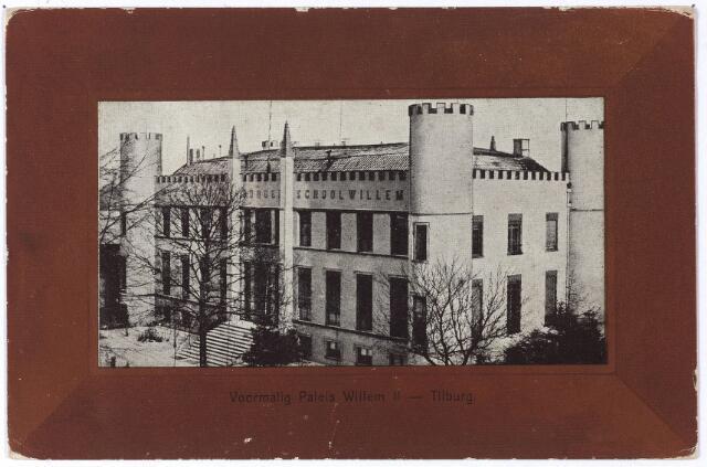 002397 - Onderwijs. Voormalig Paleis Willem II, vanaf 1864 Rijks H.B.S. Koning Willem II.