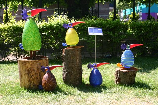 657174 - Kunst. De derde editie van de openluchtexpositie Oisterwijk Sculptuur langs De Lind in 2006.