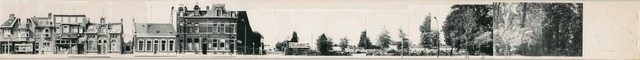 1625_0278 - Fotostrook; straatwand; panden aan de linten en hoofdverbindingswegen in het centrum van de stad; Tivolistraat even nrs