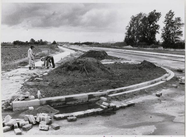 103502 - Industrieweg. Aanleg van de Industrieweg.