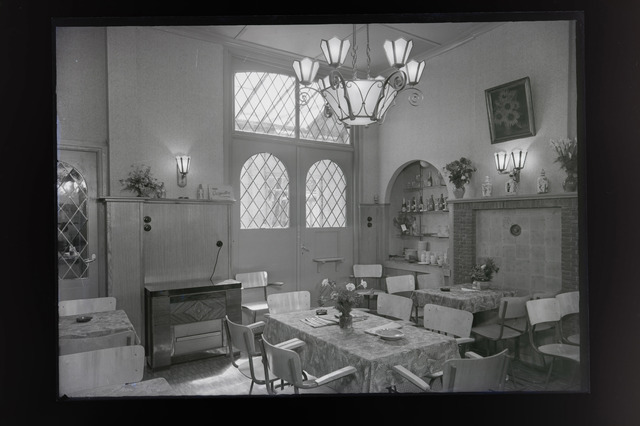 654658 - Interieur. Cafetaria Dirks.