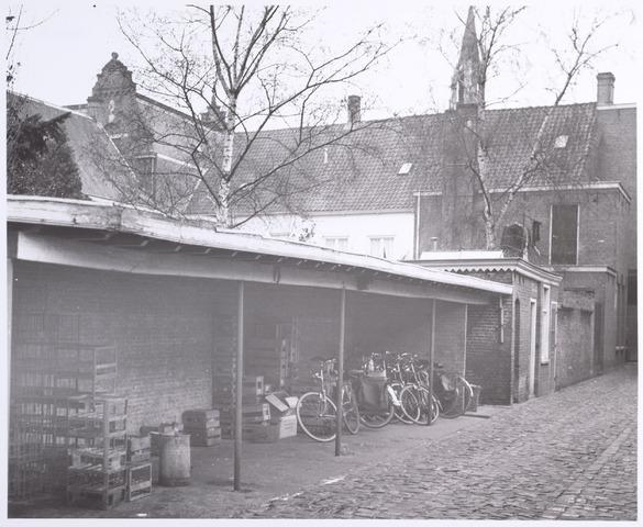 015094 - Achterzijde van de panden Bisschop Zwijsenstraat 14b, 14c en 14d.