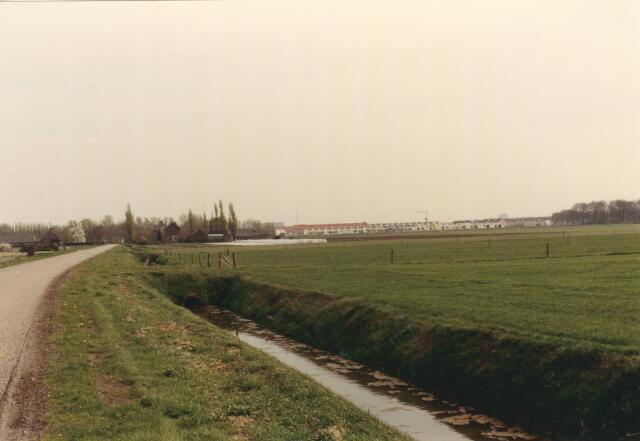 650833 - Gebied waar de latere woonwijk 'De Reeshof' is gebouwd.