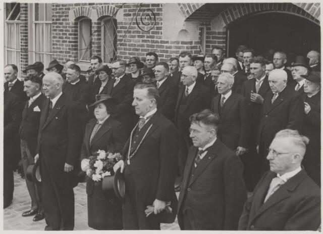 081162 - Officiele opening van het nieuwe gemeentehuis te Gilze