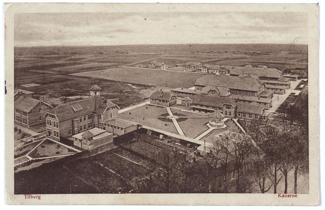 000194 - Generaal Kromhout kazerne aan de Bredaseweg. De kazerne werd gebouwd door aannemersbedrijf Weijers en in gebruik genomen op 30.4.1913.