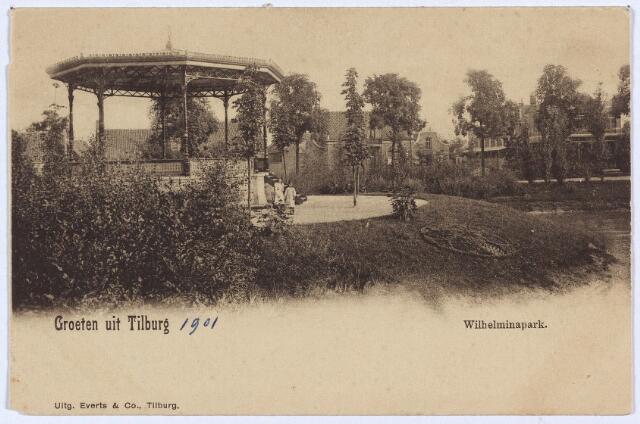 002911 - Wilhelminapark, muziekkiosk.