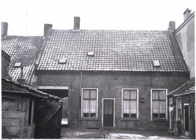 023362 - Achterzijde van het pand Julianpark 23 eind 1963