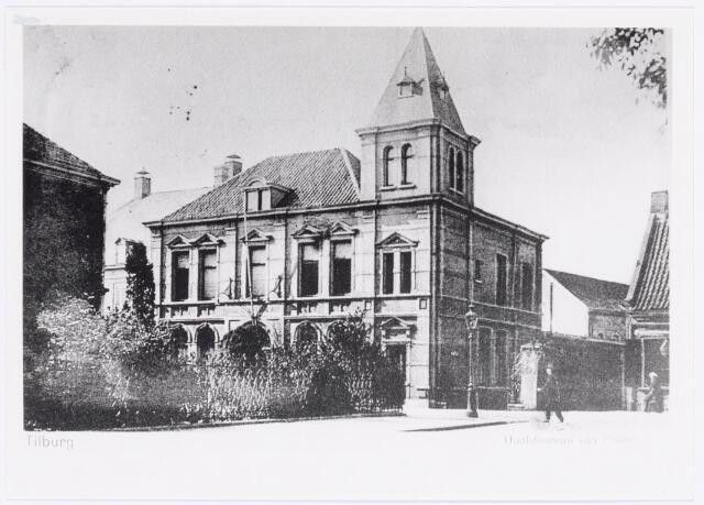 040056 - Hoofdbureau van de gemeentepolitie aan de Bisschop Zwijsenstraat.