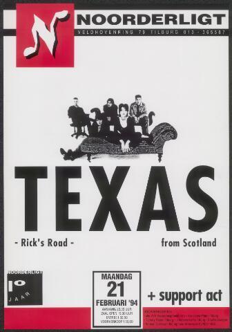 650304 - Noorderligt. Texas. Support act: Raging Slab