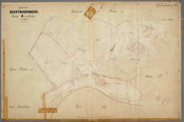 059397 - Kadasterkaart. Kadasterkaart Geertruidenberg sectie A 2e blad