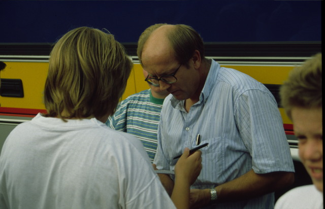 656522 - Profronde Nederland te Tilburg in 1992. Jan Raas.