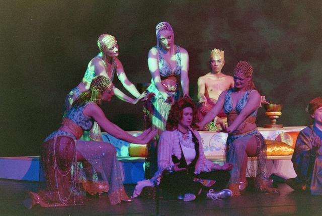 1237_001_027-2_025 - Cultuur. Theater. Tilburgse Revue. Waarschijnlijk de generale repetitie van de voorstelling Fèèn Familie op 17 maart 2005.