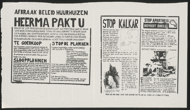 668_1989_240 - Heerma pakt u/Afbraak beleid huurhuizen