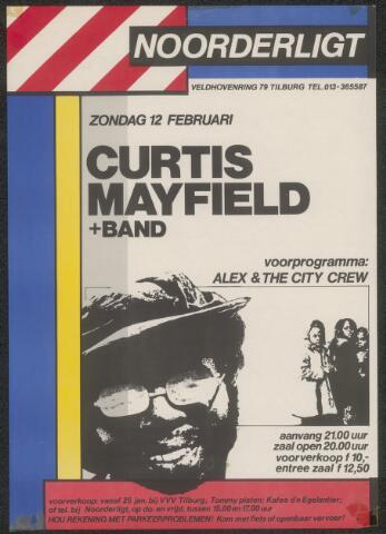 650194 - Noorderligt. Curtis Mayfield. Supporting act: : Alex & The City Crew