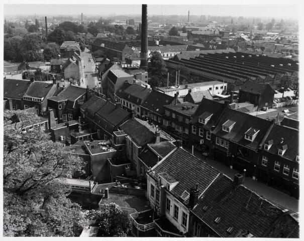 036400 - Panorama van Tilburg vanaf de toren van de Heuvelse kerk;