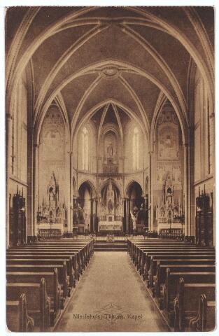 000163 - interieur kapel missiehuis van de missionarissen van het H. Hart aan de Bredaseweg.