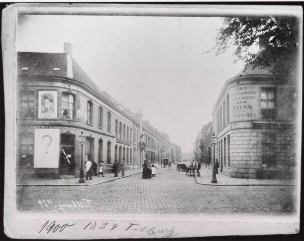 032794 - Stationsstraat in 1900