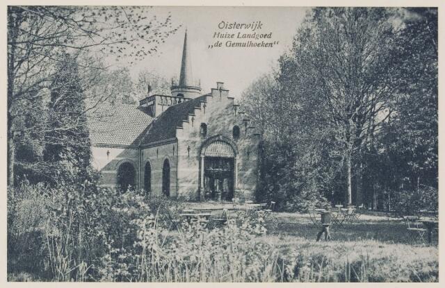 078849 - 1930, Oisterwijk, Huize Landgoed 'de Gemullehoeken ''