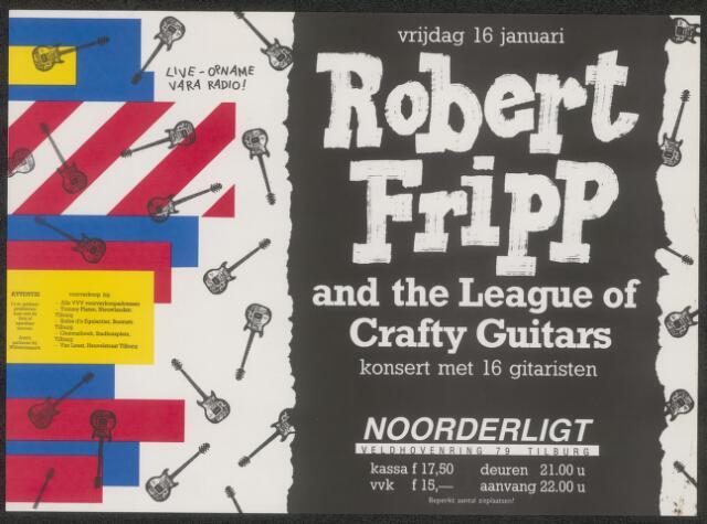 650224 - Noorderligt. Robert Fripp & The League of Crafty Guitars