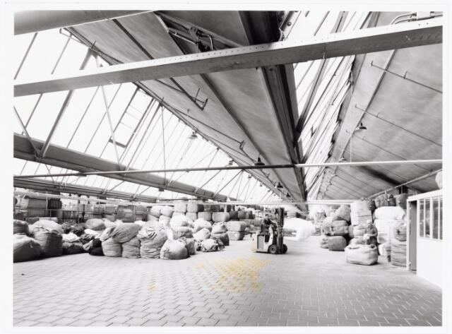 038071 - Textielindustrie. Interieur van de N.V. Spinnerij Swagemakers - Bogaerts, afdeling kamgarenspinnerij