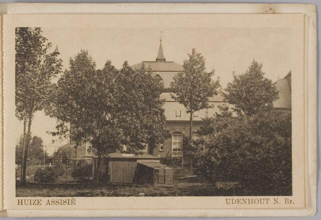 """078331 - Udenhout 1930: """"Huize Assisië"""". Gesticht voor mannelijke zwakzinnigen van den R.K. godsdienst."""