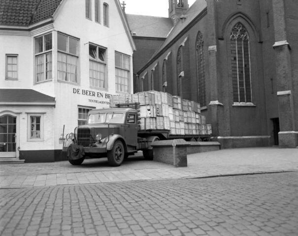 650472 - Schmidlin. Textielagentuur De Beer en Beijens NV aan de Gasthuisstraat 64, 1943.