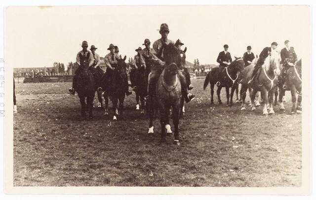 061975 - Sport. De landelijk Rijvereniging de Cavalieren opgericht op 1 januari 1929