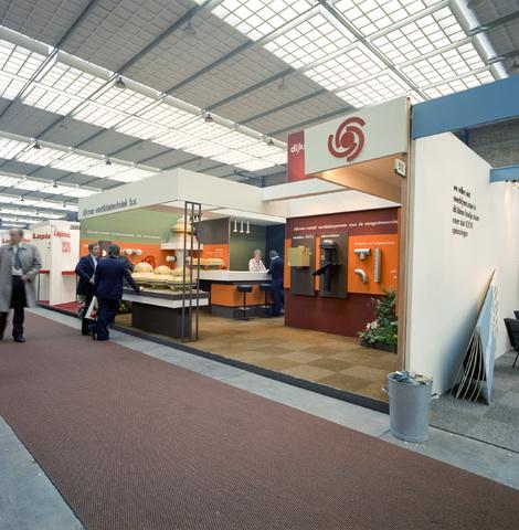 D-000398-3 - Beursstand voor de promotie van producten van Dijkman ventilatietechniek B.V.