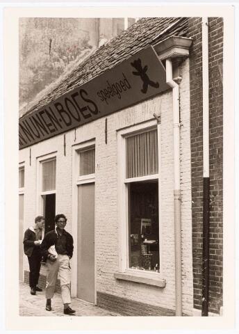 032391 - Pand van van Nunen-Boes aan de voormalige Pleinstraat 8 eveneens afgebroken waarvoor in de plaats ondermeer het parkeerterrein aan het Stadhuisplein