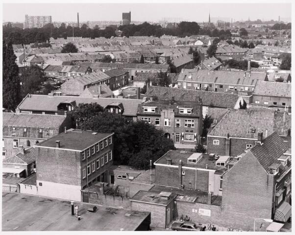 036477 - Panorama van Tilburg vanaf de kerktoren van de Korvelse kerk