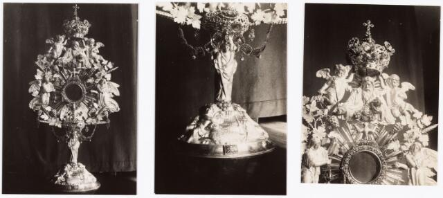 009902 - detail fotos van monstrans parochie 't Heike.