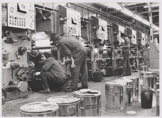 081563 - Behangpapiefabriek Goudsmit - Hoff, flexo-drukkerij.