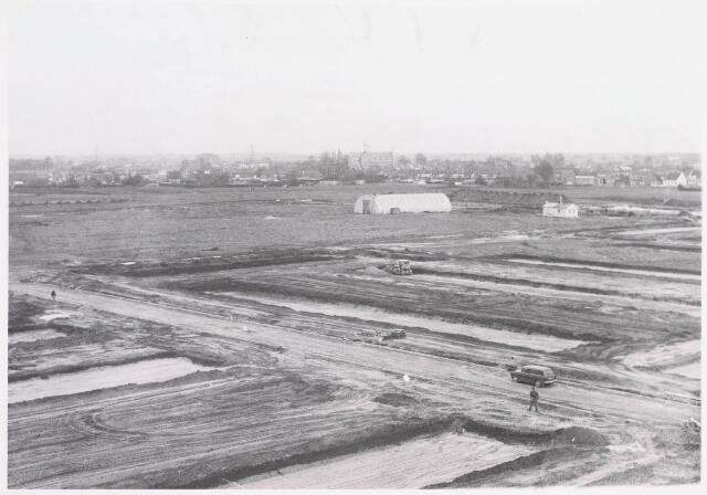 "036298 - Panorama vanaf flat aan de Frans Lisztstraat; uitbreidingsplan ""Noord Heikant"""