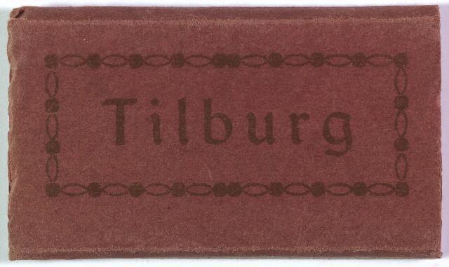 003208 - Mapje met Tilburgse ansichtkaartjes.