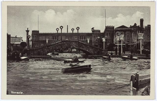 003337 - Attractieterrein Venezia op de Internationale Tentoonstelling Stad Tilburg 1934.