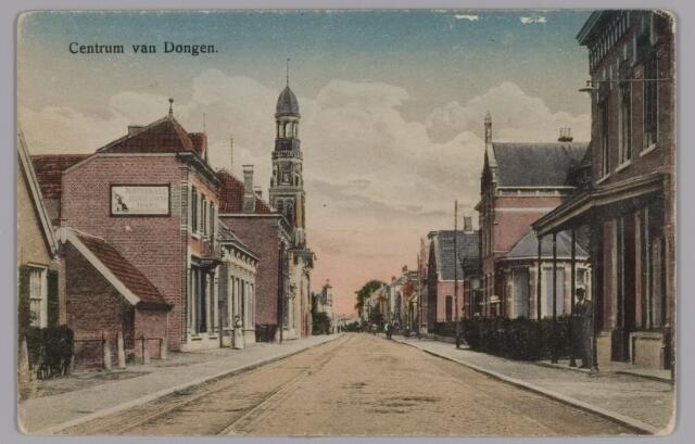 085405 - Dongen. Hoge Ham met Waterstaatkerk