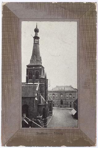 002321 - Kerk van de H. Dionysius (Heike) en voormalig gemeentehuis.