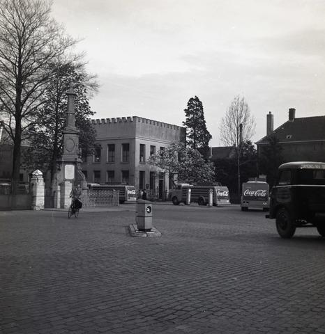 653729 - Cultuur. Exterieur van het Natuurhistorisch museum. Dit gebouw is gesloopt in 1963.