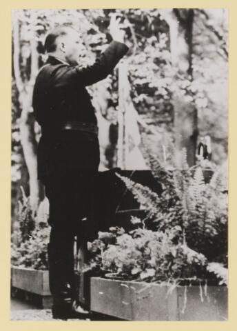 077316 - Arnold Meiijer, leider Zwart Front 1934-1941 Spreekbeurt van de leider