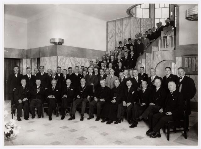 104033 - Congressen. Congres van de R.K. Kleermakers patroons op het Paleis Raadhuis.