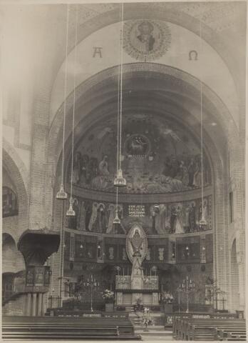 085458 - Dongen. RK Laurentiuskerk (Koepelkerk).