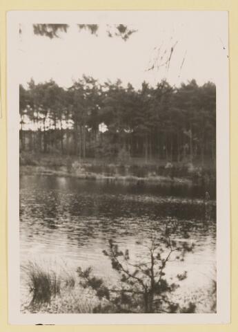 075380 - Serie ansichten over de Oisterwijkse Vennen.  Ven: Staalbergven.