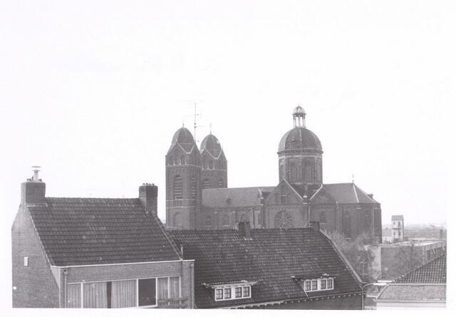 017058 - Kerk van de parochie St.-Anna aan de Capucijnenstraat  anno 1971