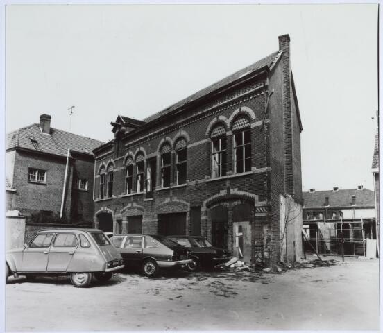025520 - Gebouw van de voormalige wijnhandel Verbunt aan de Langestraat kort voor de sloop (foto gemaakt in periode 1972-1980)