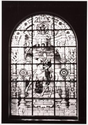 035801 - Glas in lood raam in het oude gemeentehuis aan het Stadhuisplein
